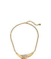 The Sak - Metal Pave Bib Necklace 16