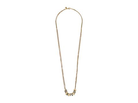 The Sak Multi Pave Ring Necklace 34