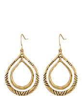 The Sak - Etched Metal Orbit Earrings