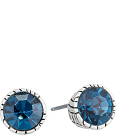 The Sak - Faceted Stone Stud Earrings