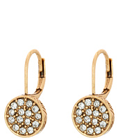 The Sak - Pave Circle Drop Earrings