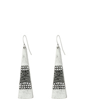 The Sak - Pave Paddle Drop Earrings