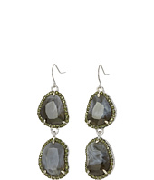 Sam Edelman - Pave Stone Double Drop Earrings