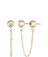 Sam Edelman - Ball Chain Bar Earrings