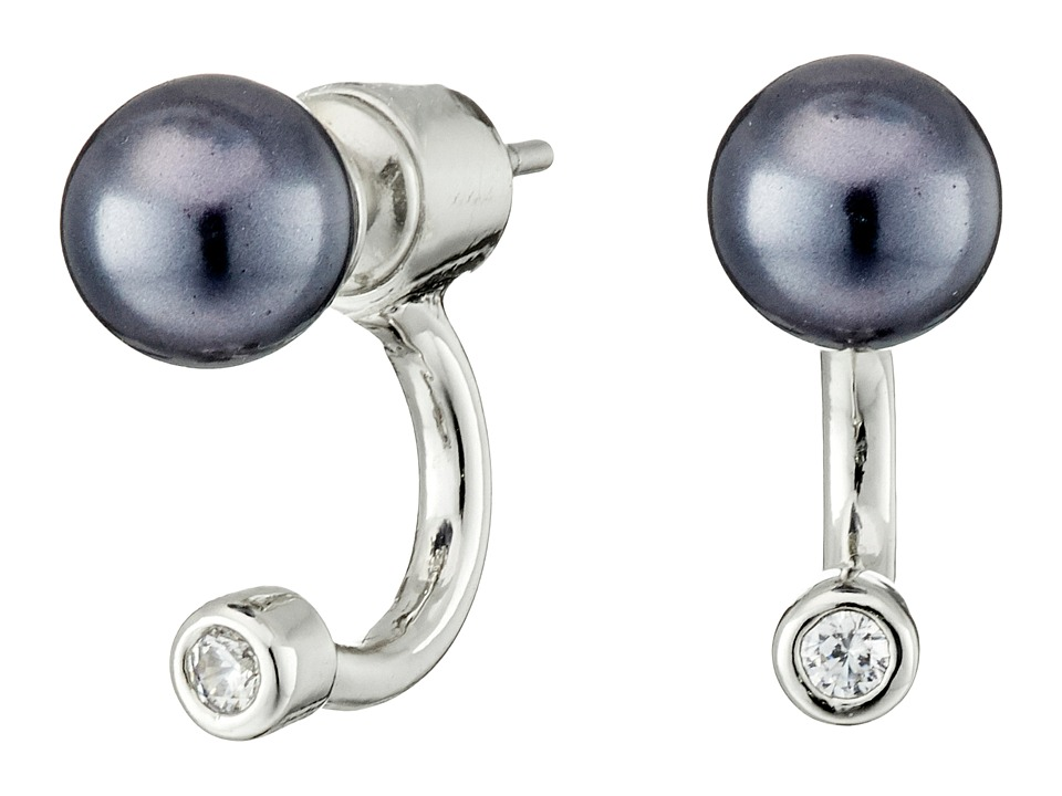 Sam Edelman Ashley Floater Earrings Graphite/Rhodium Earring