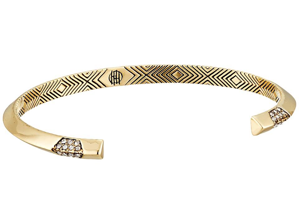 House of Harlow 1960 Modern Revival Cuff Bracelet Gold Bracelet