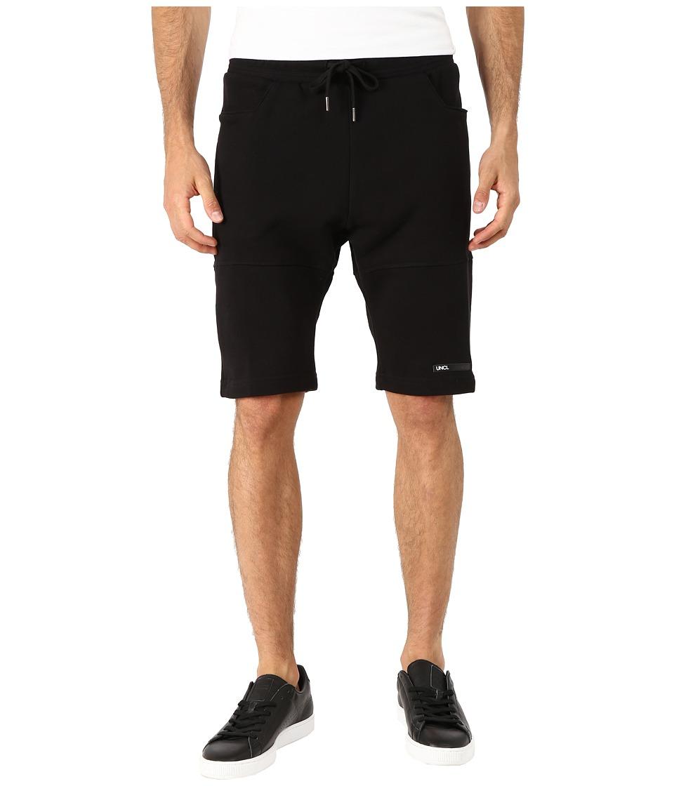 UNCL Rider Shorts Black Mens Shorts