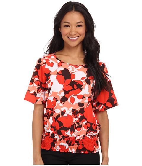 MICHAEL Michael Kors Camouflage Rose Kimono