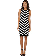 Vince Camuto - Chevron Stripe Sweater Dress