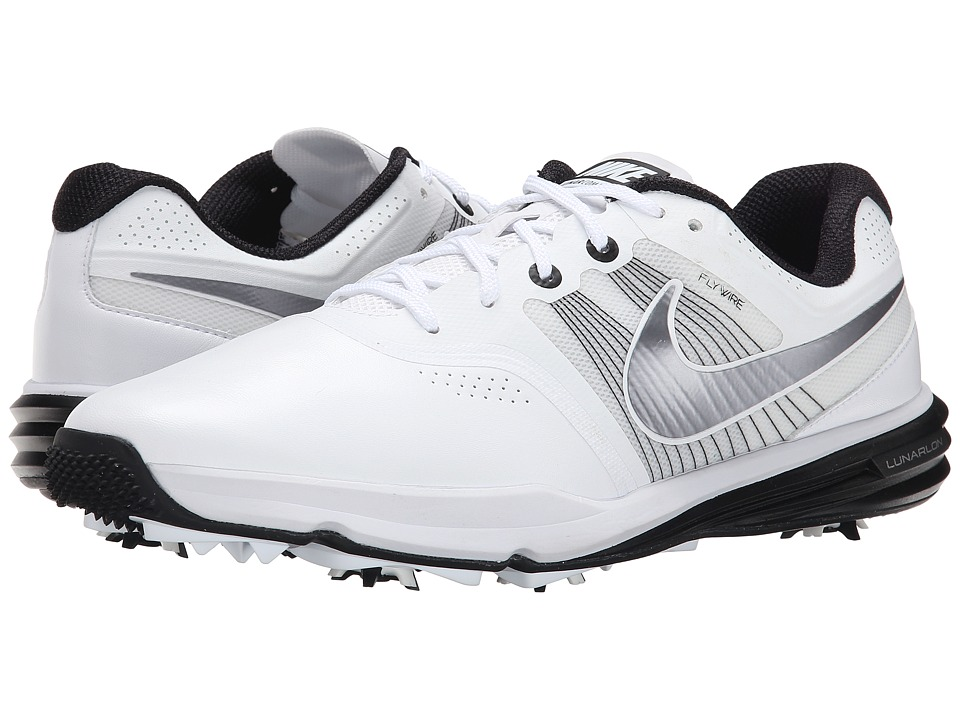 Nike Golf - Lunar Command (White/Black/Metallic Cool Grey) Men