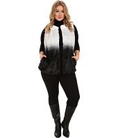 Vince Camuto Plus - Plus Size Ombre Faux Fur Vest