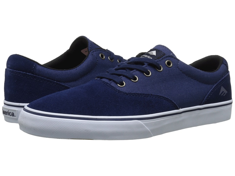 Emerica - The Provost Slim Vulc (Navy/White) Men