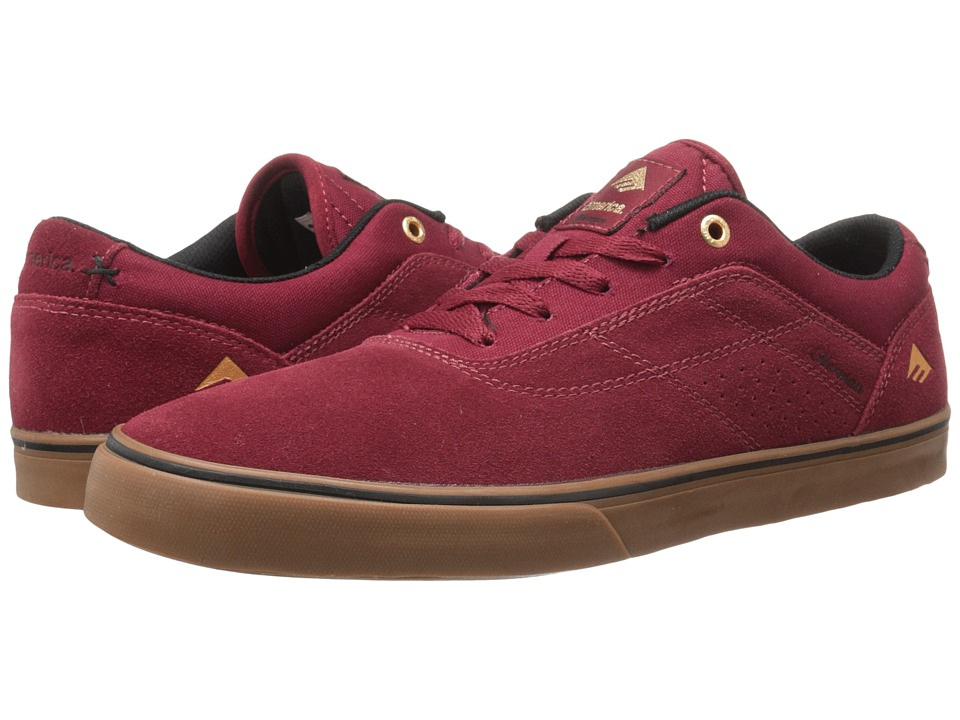 Emerica - The Herman G6 Vulc (Burgundy/Gum) Men