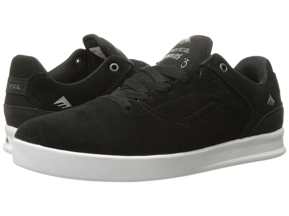 Emerica The Reynolds Low (Black/Silver) Men