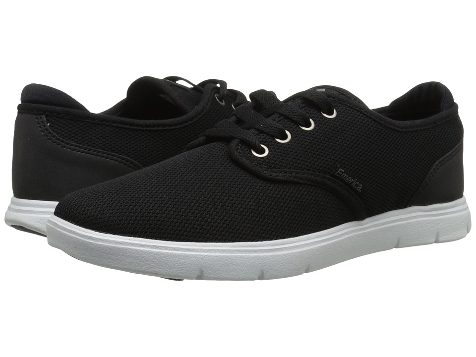 Emerica - Wino Cruiser LT (Black/White/Black) Men