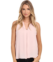 Vince Camuto - Blouse w/ Inverted Front Pleat