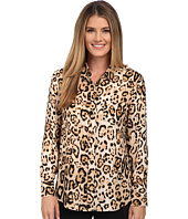 Vince Camuto - Animal Estate Button Front Blouse