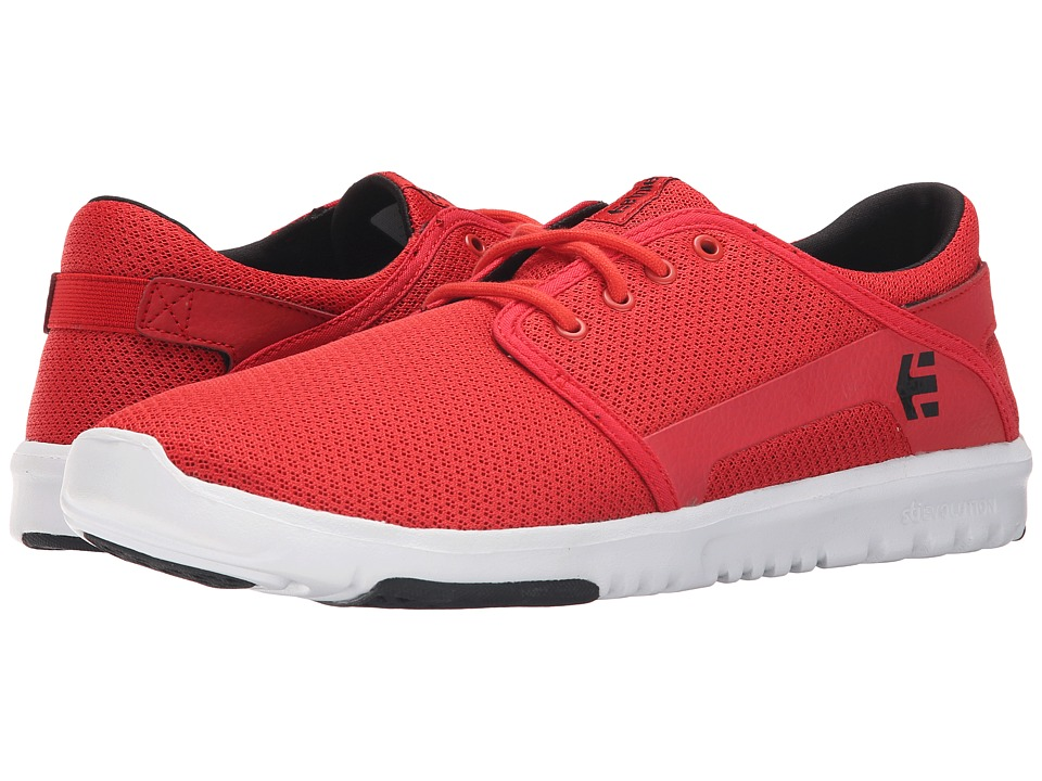 etnies Scout Red/White/Black Mens Skate Shoes
