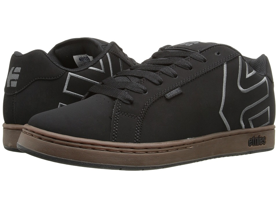 etnies Fader (Black/Charcoal/Gum) Men