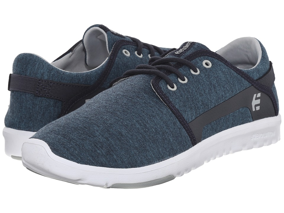 etnies Scout Navy/Grey/White Mens Skate Shoes