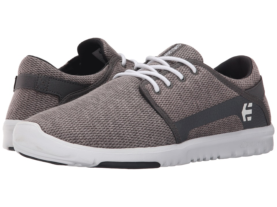 etnies Scout Grey/White/Navy Mens Skate Shoes