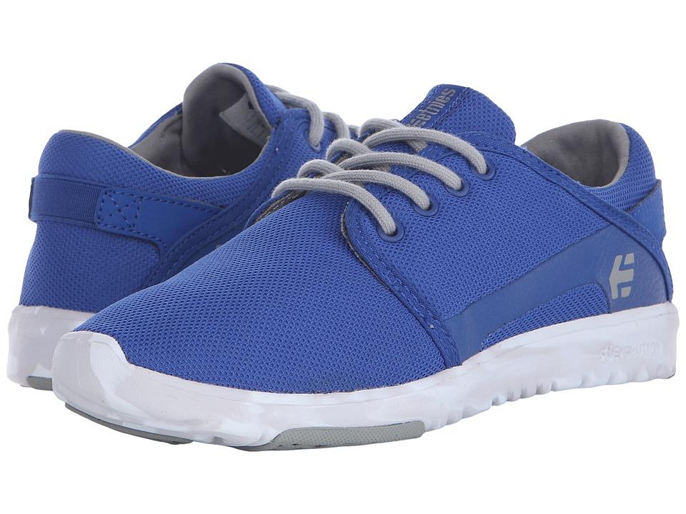 etnies Scout Blue/Grey/White Mens Skate Shoes