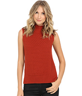 Vince Camuto - Mock Neck Bobble Stitch Sweater