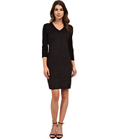 Vince Camuto - 3/4 Sleeve Faux Suede Dress