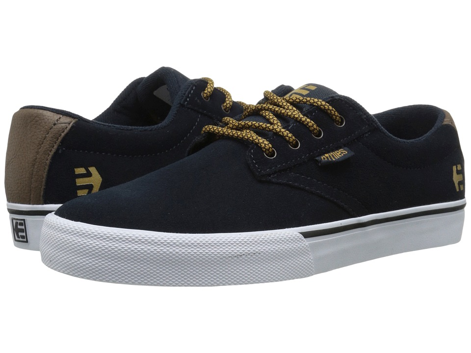 etnies - Jameson Vulc (Navy/Brown/White) Men