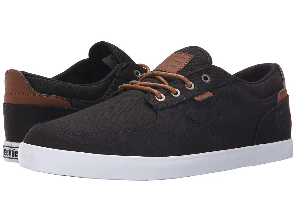 etnies - Hitch (Black/Brown) Men