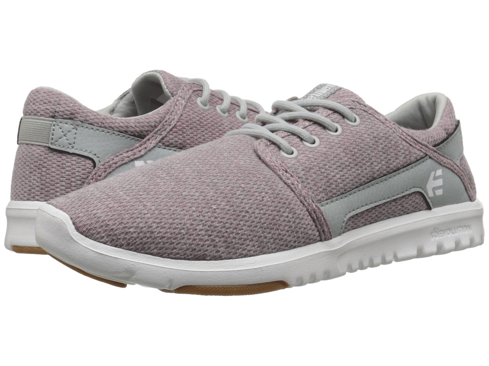 etnies Scout W Pink/White/Grey Womens Skate Shoes