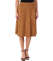Vince Camuto - Faux Suede Midi Skirt