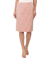 Anne Klein - Ribbon Tweed Pencil Skirt