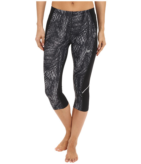 New Balance Printed Accelerate Capri Pants