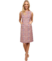 Anne Klein - Ikat Linen Mod Sheath Dress