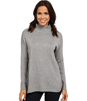 Vince Camuto - Mock Neck Sweater w/ Ribbed Sleeves
