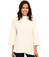 Vince Camuto - Mock Neck Asymmetrical Hem Sweater