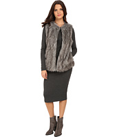 Vince Camuto - Long Hair Faux Fur Vest