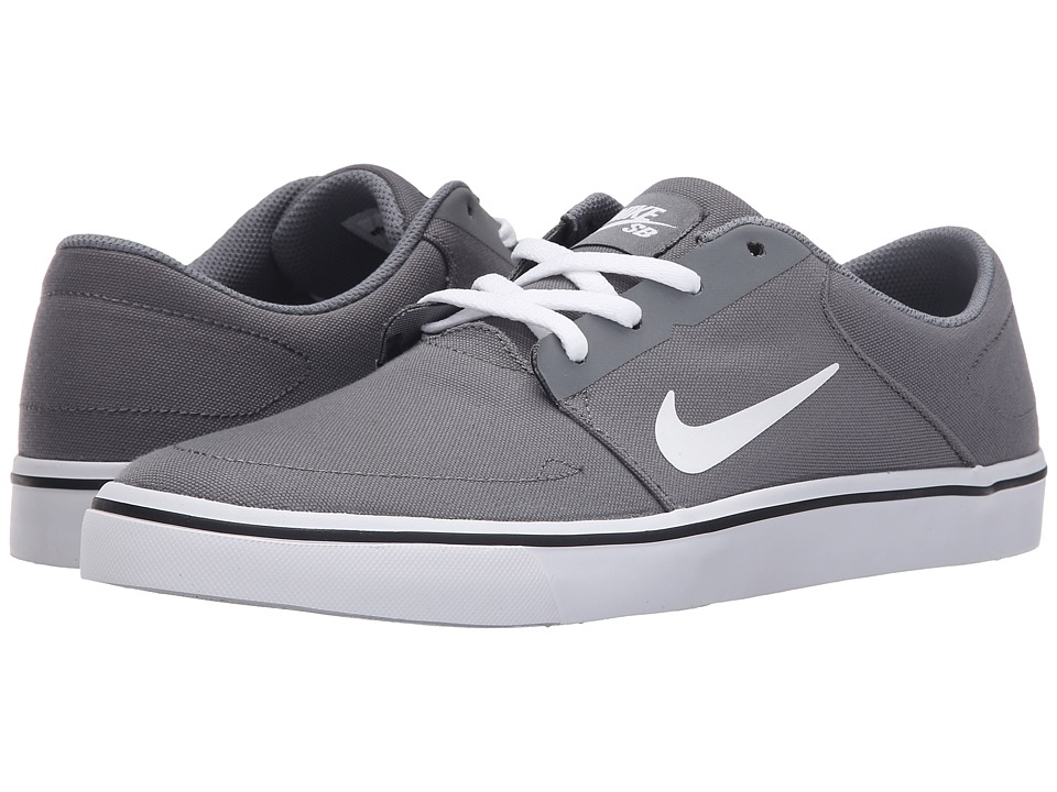 Nike SB Portmore Canvas (Cool Grey/Black/White) Men
