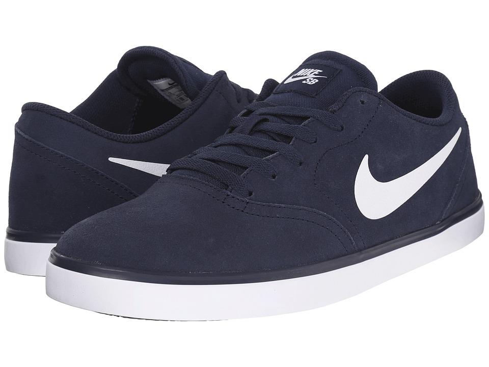 Nike SB Check Obsidian/Black/White Mens Skate Shoes