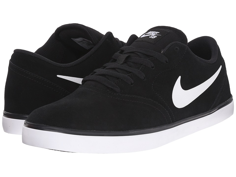 Nike SB Check Black/White 2 Mens Skate Shoes