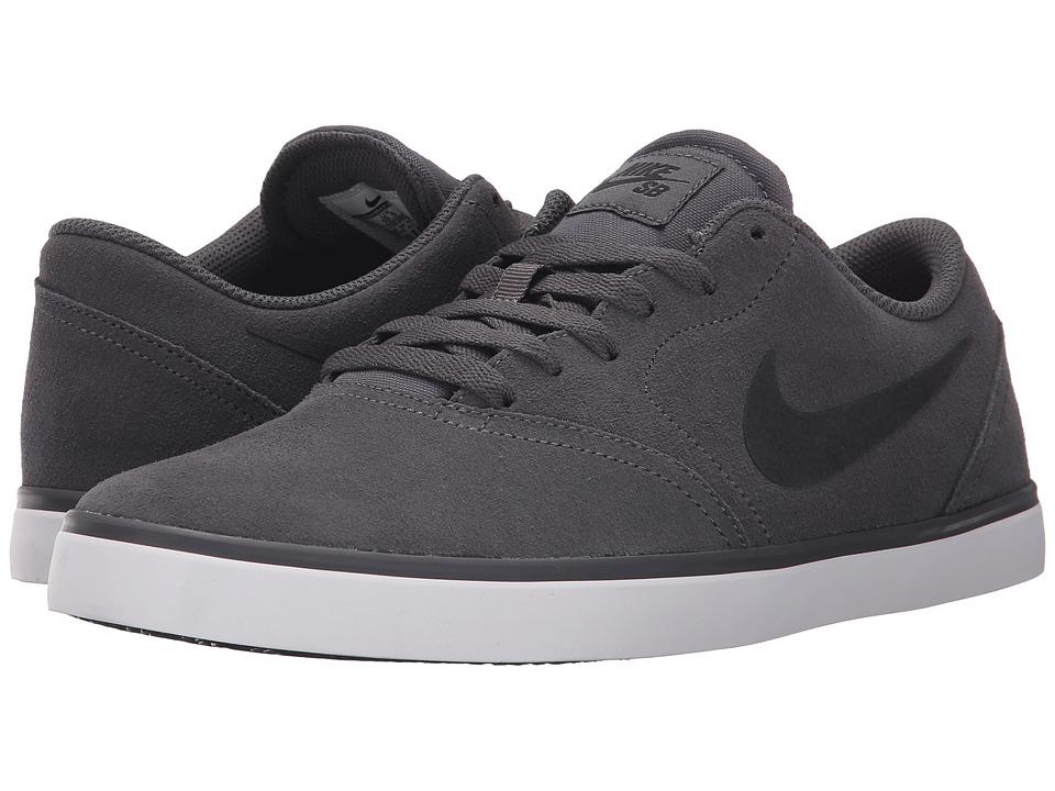 Nike SB Check Dark Grey/White/Black 2 Mens Skate Shoes