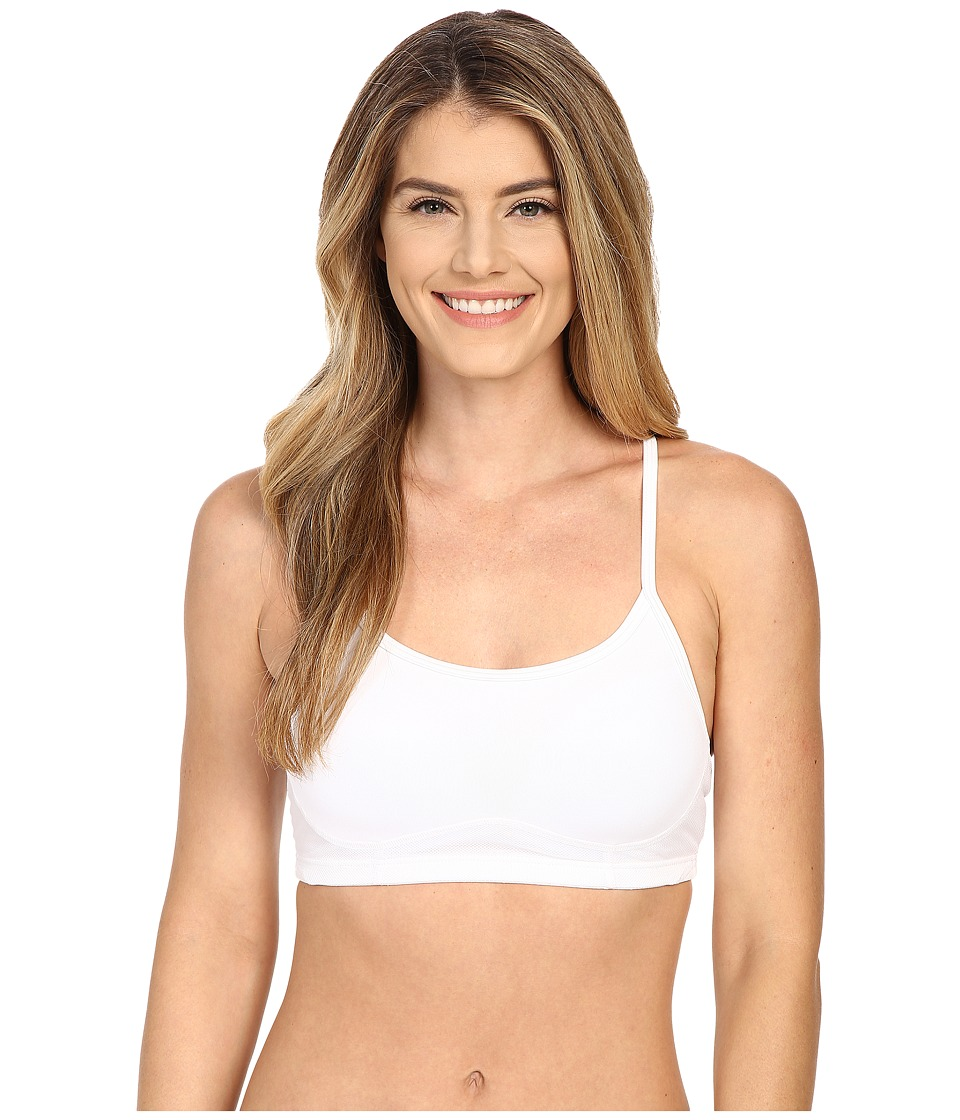 New Balance - NB Hero Bra (White) Womens Bra