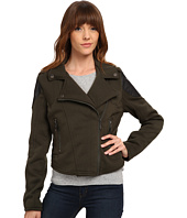 dollhouse - Asymetric Zip Moto Jacket w/ Zip Pockets