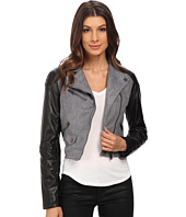 dollhouse - Asymtric Zip Jacket w/ Perforated Side Panels