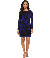 MICHAEL Michael Kors - Kilam Boat Neck Border Dress