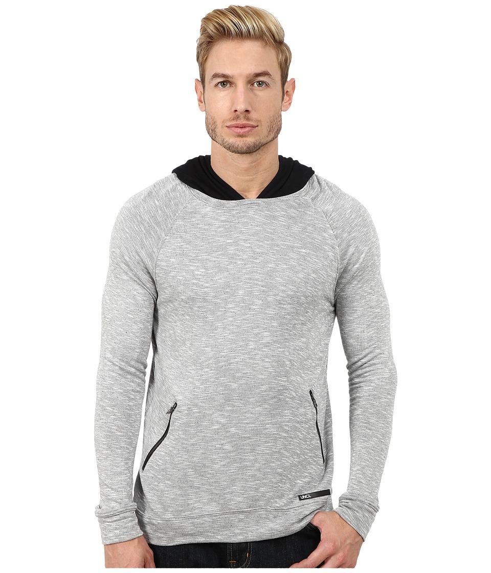 UNCL Raider Hoodie Grey Mens Sweatshirt