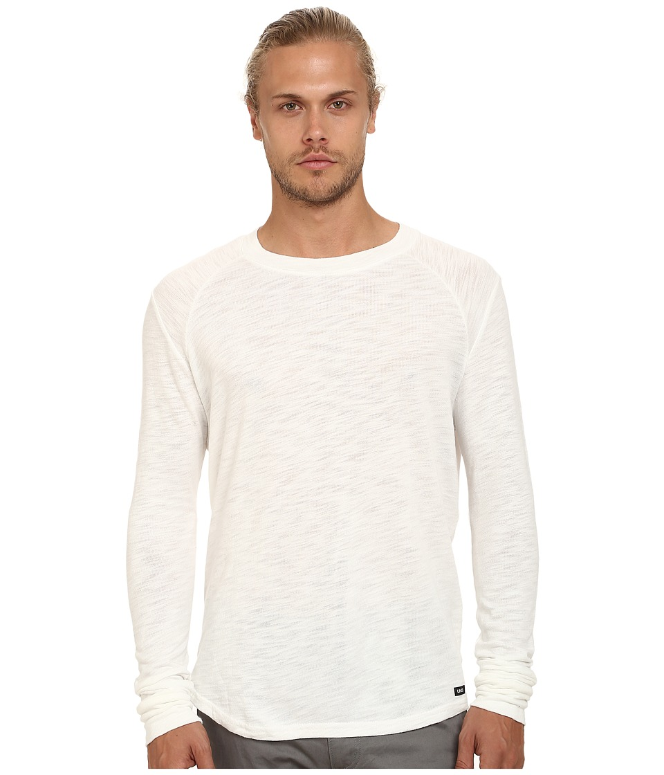 UNCL Long Sleeve Raglan White Mens Long Sleeve Pullover