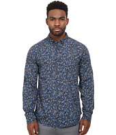 Levi's® - Lyle Printed Heather Poplin Long Sleeve Shirt