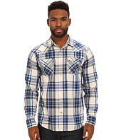Levi's® - Leto Space Dye Plaid Long Sleeve Shirt